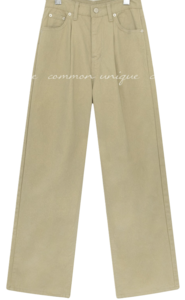 TOPA PINTUCK COTTON PANTS