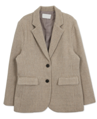 Notting Hill Wool Check Jacket