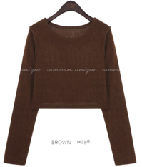 DENTOS ROUND CROP KNIT