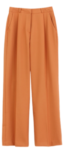New Autumn Pintuck Slacks; Carrot