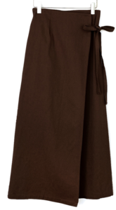 Murren wrap skirt-3color