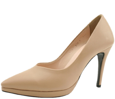 Gabosi Stiletto High Heels 10cm Beige