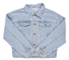 Damage Button Denim Jacket