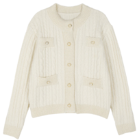 Coco Shine Knit Cardigan