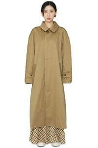 Fred over single trench coat
