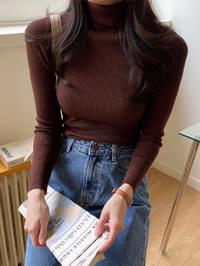 Day Ribbed Turtleneck Knitwear