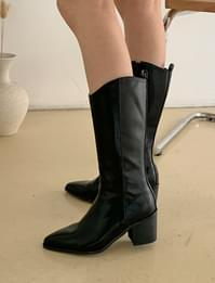 Stiletto Middle Western Boots