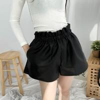 Chaos Leather Banding Shorts