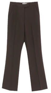 Modern Basic Slacks; Brown