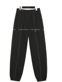 Pintucked Jogger Pants