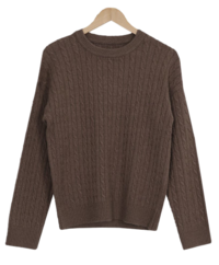 Edith Cash Twist Knit