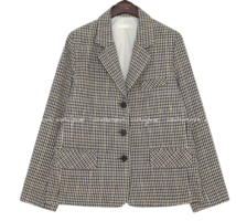 RAISEN WOOL HOUND CHECK JACKET