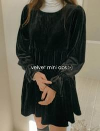 Daise Velvet Mini One Piece