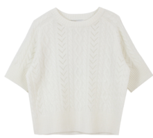 Twist Short Sleeve Knit