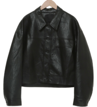 Course Leather Crop Jacket 夾克外套