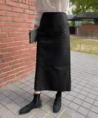 One Maxi Skirt-2color