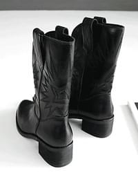 Haek Western Middle Boots 5cm