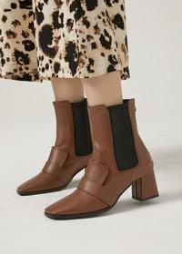 Spoil banding chin ankle boots