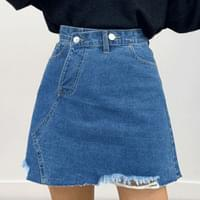 Relief unfeeling skirt