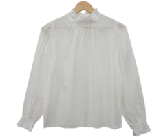 Lily ruched blouse