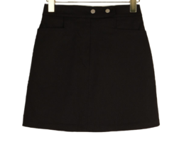 Clip two button skirt 裙子