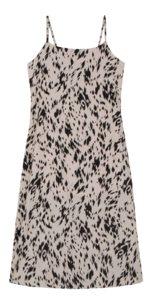 Four-in leopard maxi dress