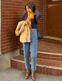Real Blue Slim Date Denim Pants