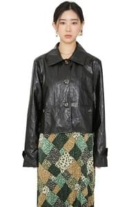 Shine Slow Leather Jacket
