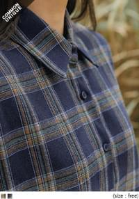 VINTAGE LOOSE FIT CHECK SHIRTS
