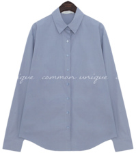 Loose Button-Up Shirt