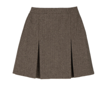 Berlin wool mini skirt スカート