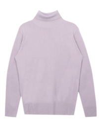 365 BASICFoldover Turtleneck Knit Top