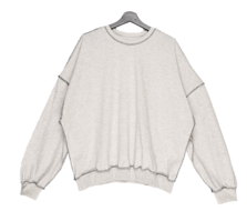 Cent stitch overfit sweatshirt