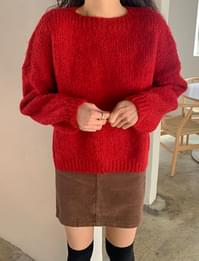 Frey Loose Fit Round Knit
