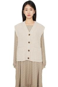 You's Lambs Wool Knit Vest