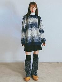 Gradient sally knit