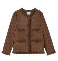 Rosha Cararis tweed jacket