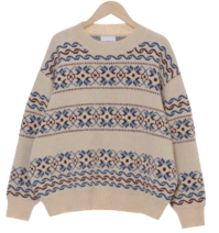 Nordic Overfit Wool Knit