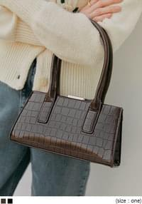 SENZ 2 WAY CROCODILE LEATHER BAG