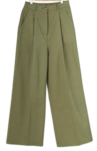 Barney pintuck wide trousers パンツ