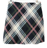 Simon check mini skirt