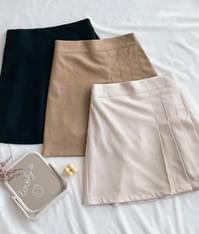 Billy pleated mini skirt