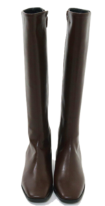 Basic Square Long Boots