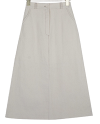 Mika corduroy long skirt