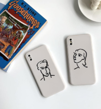 Henri Matisse Drawing Couple Face iPhone Case