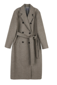 Foren Wool Double Long Coat