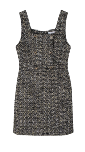 Benjamin tweed mini dress