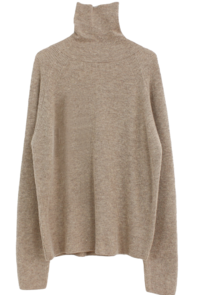 Wool Cashmere Turtleneck Knit