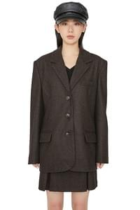 Berlin wool single blazer