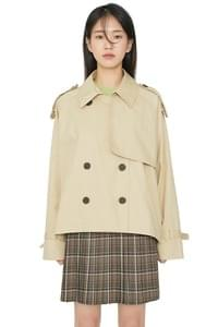 Kobe short trench jacket